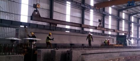 Girders for Aqana new port expansion