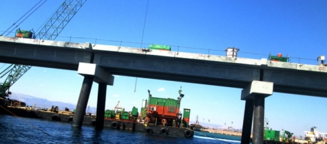 Aqaba New Liquefied Natural Gas (LNG) port girders