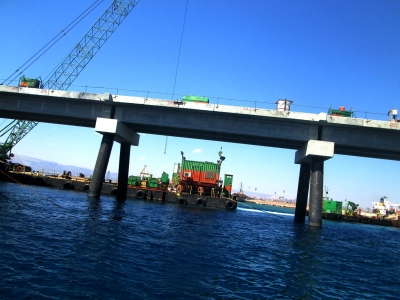 Aqaba New Liquefied Natural Gas (LNG) port girders